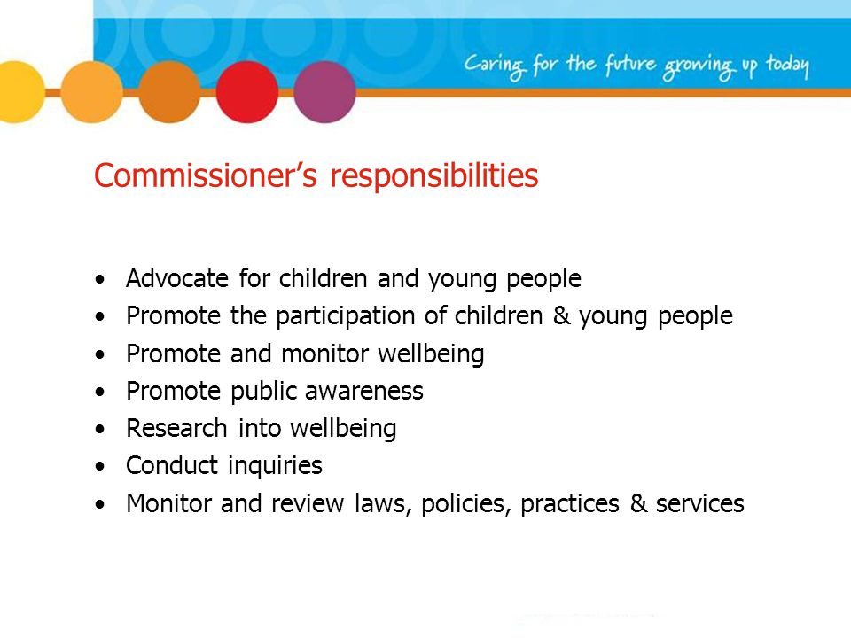 Wellbeing Research 1000 children and young people (5 – 18) What do they believe is important to their wellbeing.