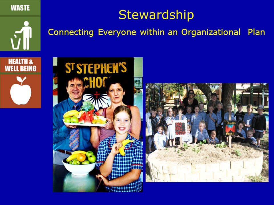 Stewardship Connecting Everyone within an Organizational Plan