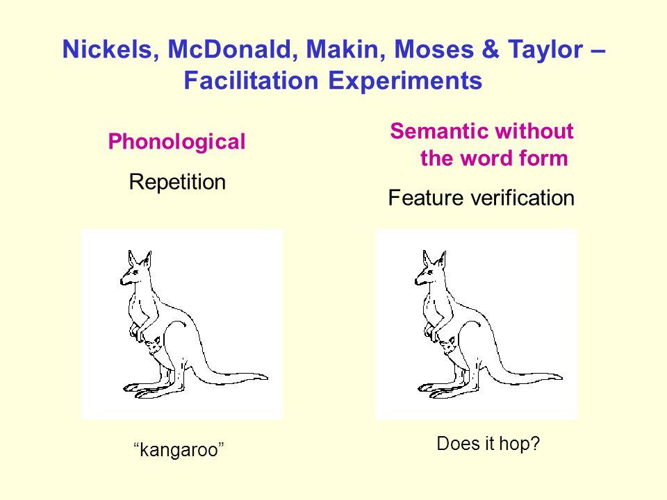 """Cueing, Facilitation, Therapy """"k"""" kangaroo"""