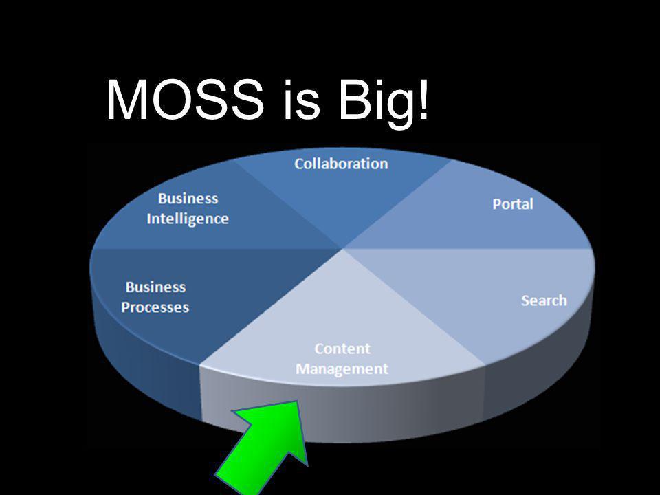 MOSS is Big!