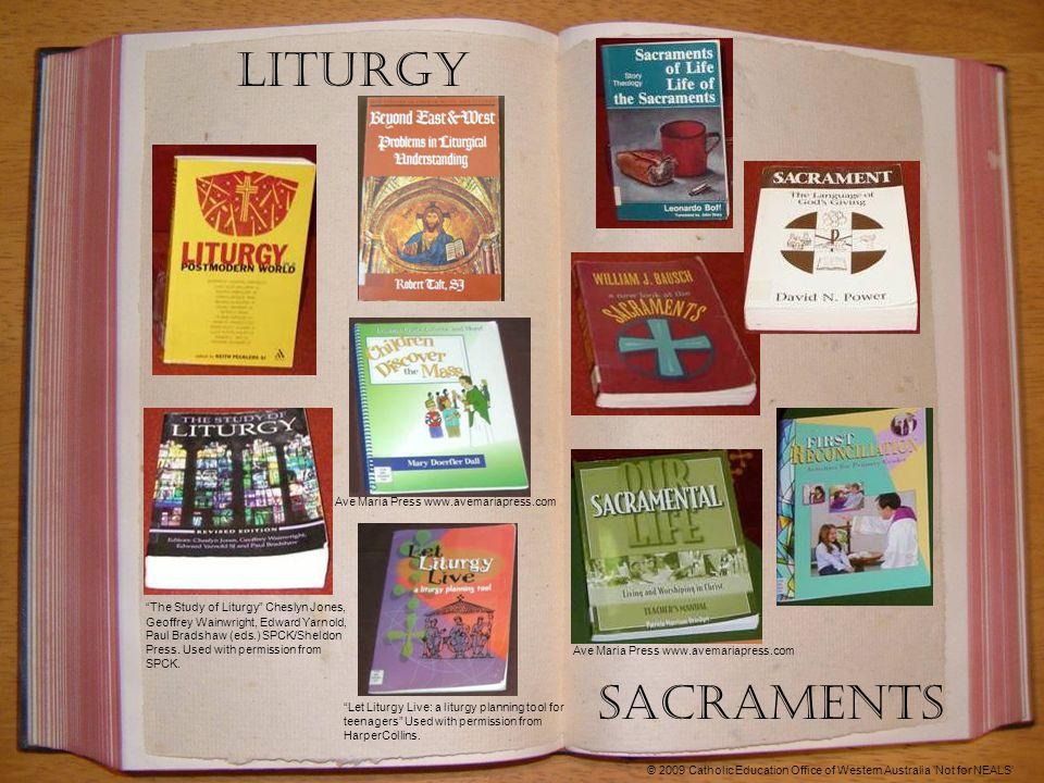 Liturgy The Study of Liturgy Cheslyn Jones, Geoffrey Wainwright, Edward Yarnold, Paul Bradshaw (eds.) SPCK/Sheldon Press.