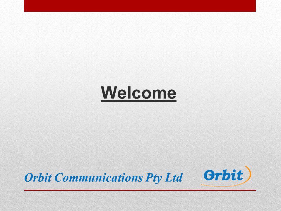 Welcome Orbit Communications Pty Ltd