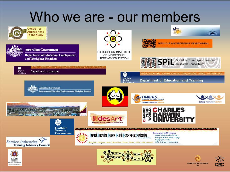 Who we are - our members
