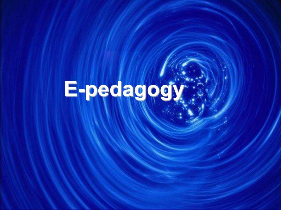 E-pedagogy