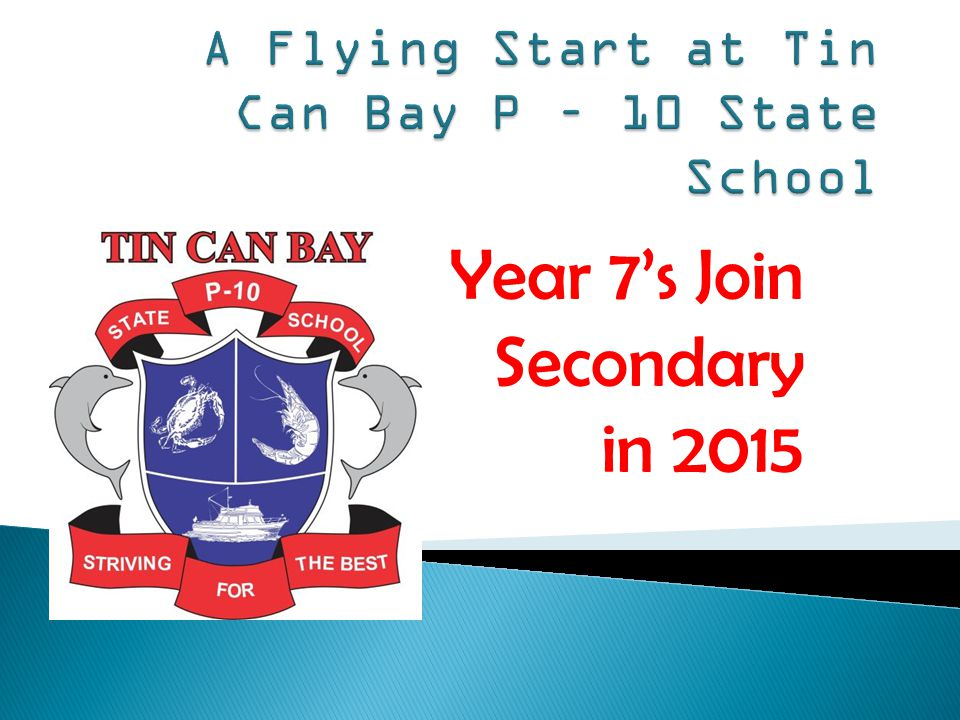 Year 7's Join Secondary in 2015