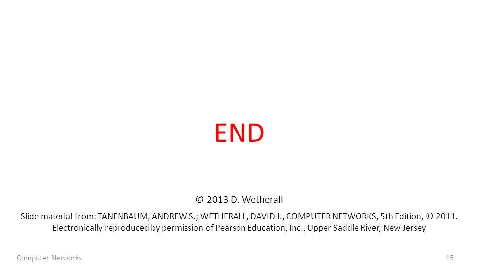 END © 2013 D.