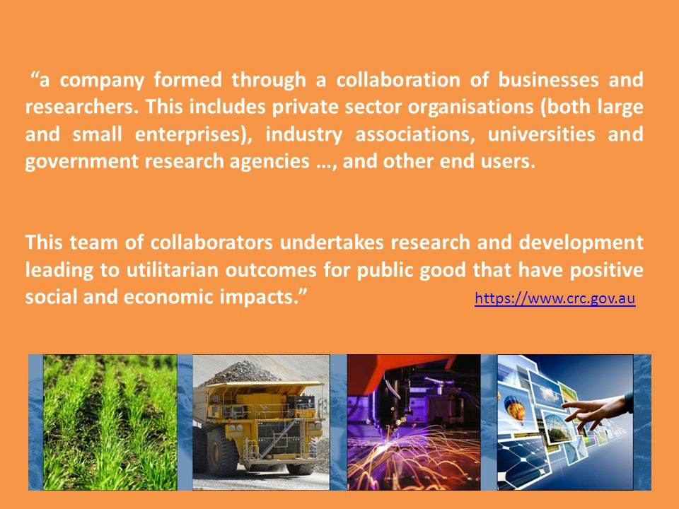 a company formed through a collaboration of businesses and researchers.