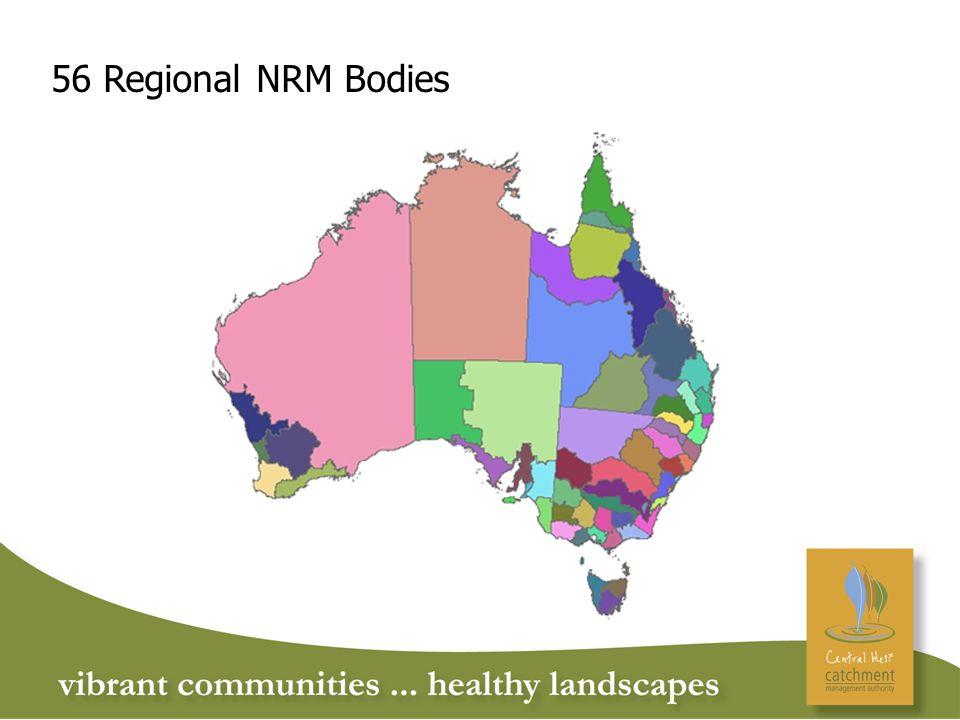 56 Regional NRM Bodies