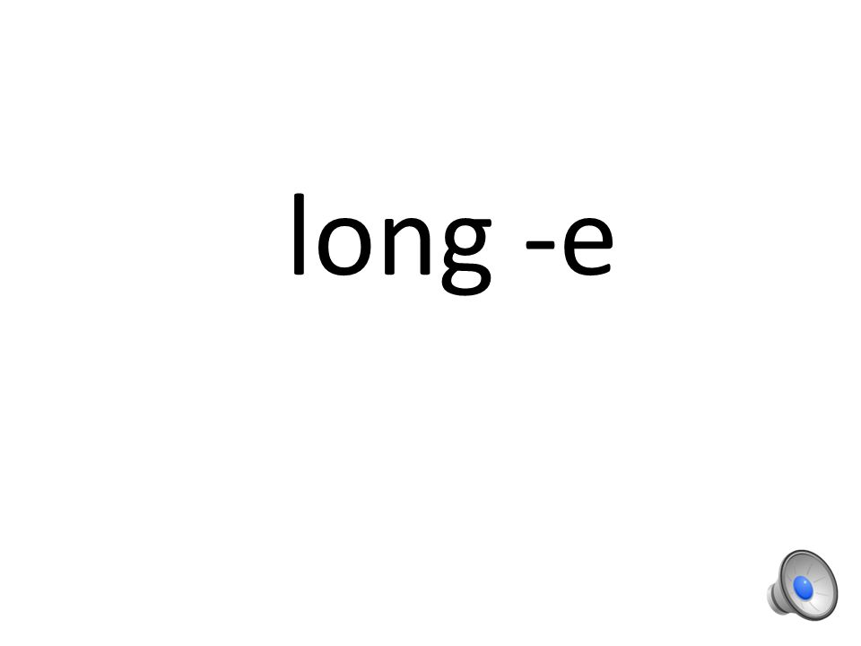 Word sort 24 Review of long vowels