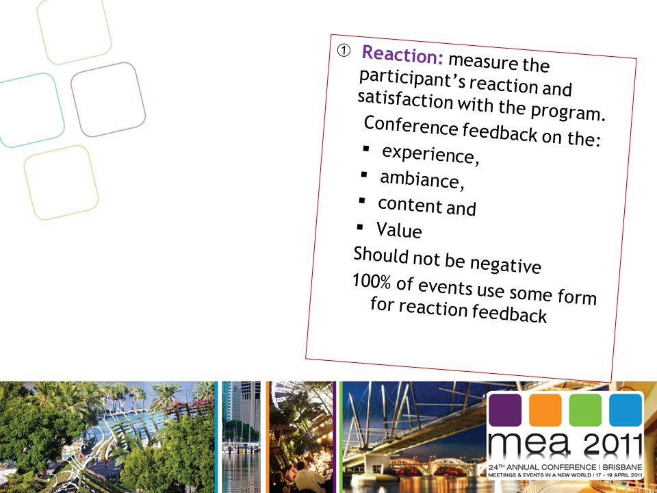 Core motives or needs of business events How can the meeting help...