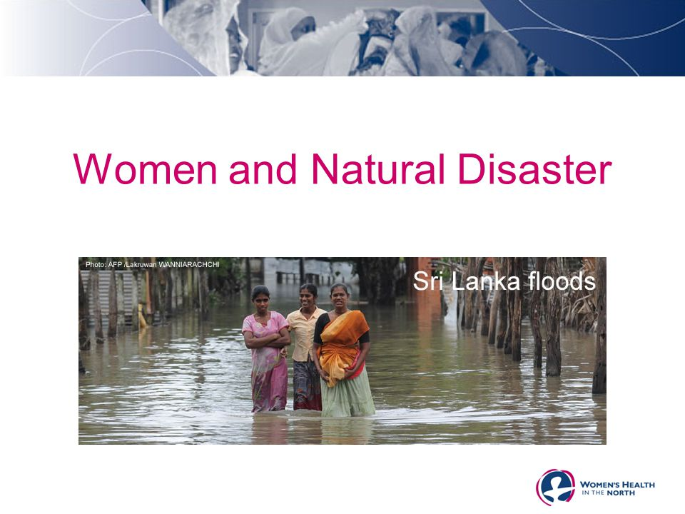 Women and Natural Disaster