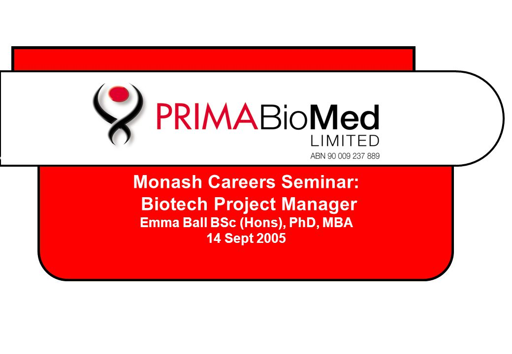 RMH (1999-2000) Worked with Urologists Learned about clinical aspects of science Applied for jobs at Lonely Planet, Australian Australian Volunteers Abroard etc etc – anything to get away from science Experience was invaluable (hindsight)