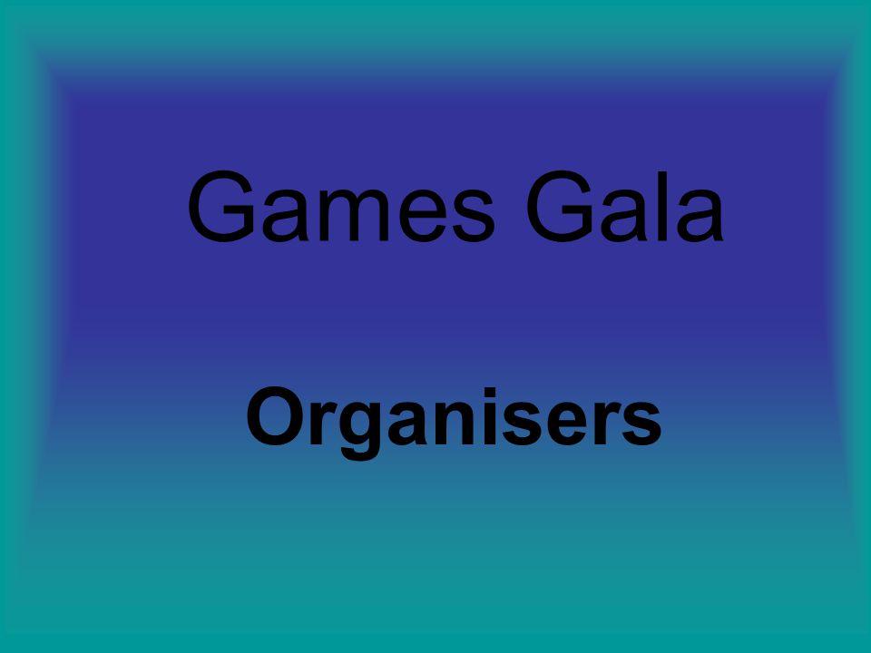Games Gala Organisers