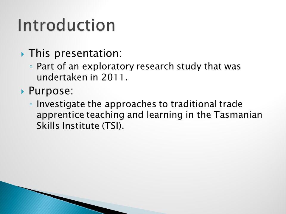 Tasmanian VET landscape changed in 2009. Tasmania Skills Institute (TSI) evolved.