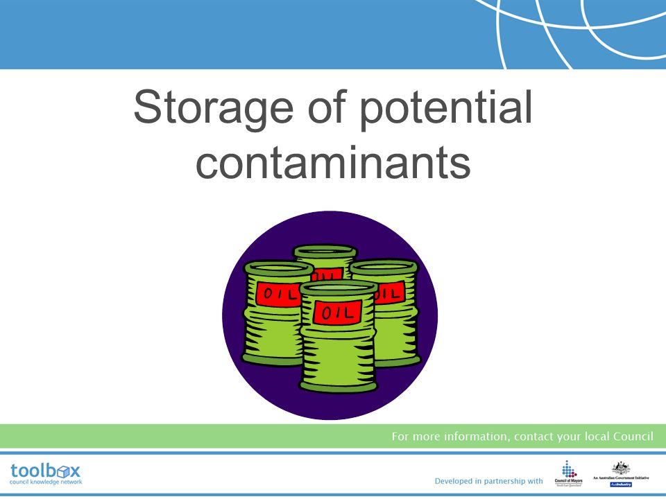 Waste is minimised when possible. Waste storage area is undercover and maintained in a clean and tidy condition. Waste containers are clearly labelled