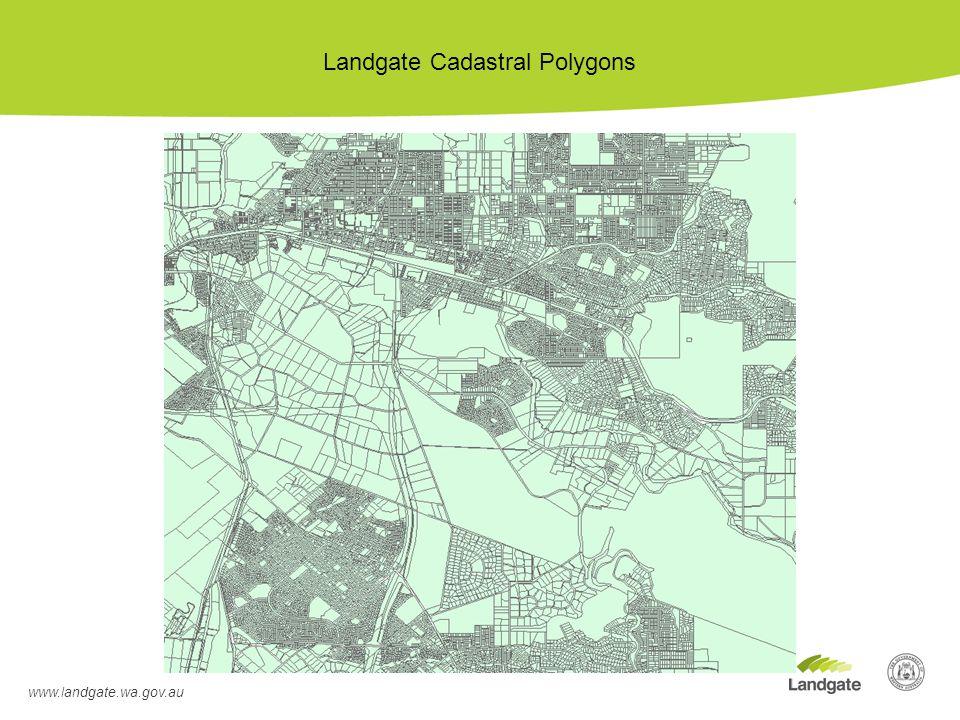 Landgate Cadastral Polygons