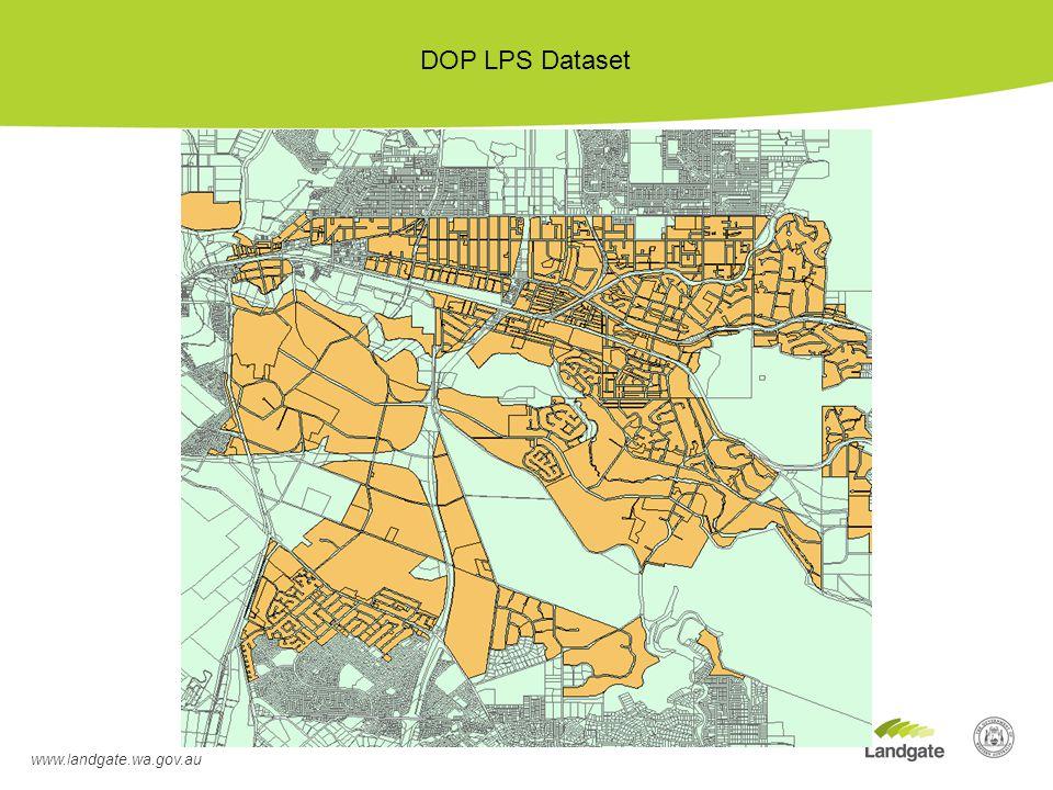 www.landgate.wa.gov.au DOP LPS Dataset