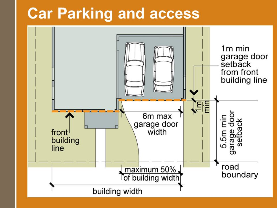 Car Parking and access