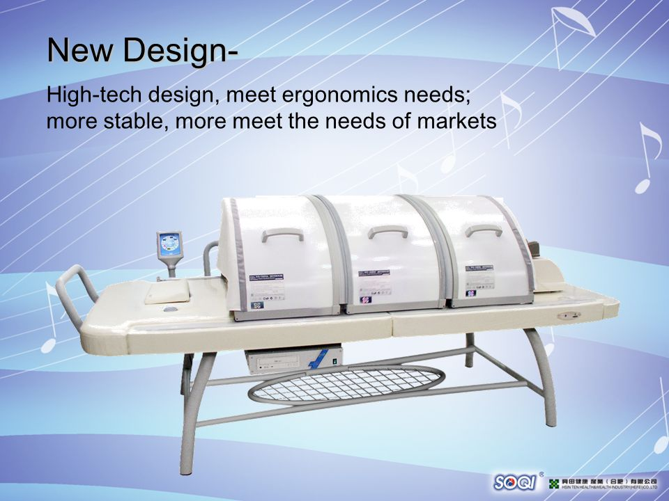 New Design- High-tech design, meet ergonomics needs; more stable, more meet the needs of markets