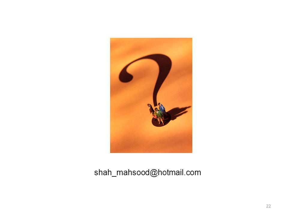 22 shah_mahsood@hotmail.com