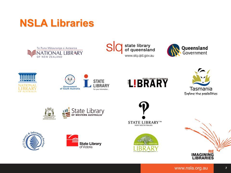 7 7 NSLA Libraries