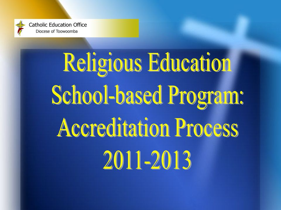Why an Accredited RE Program.
