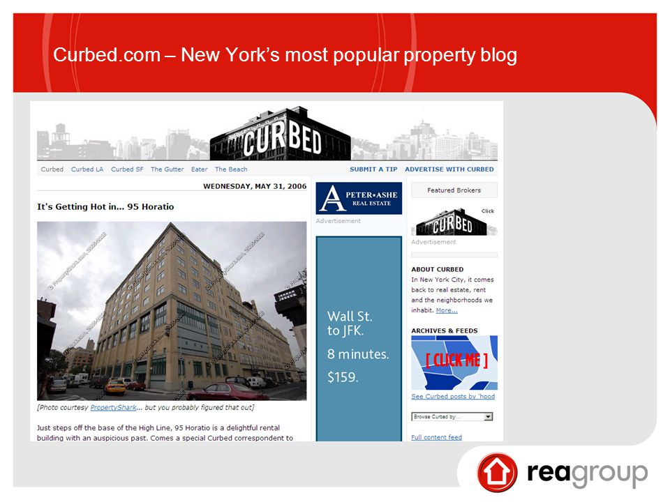 Curbed.com – New York's most popular property blog