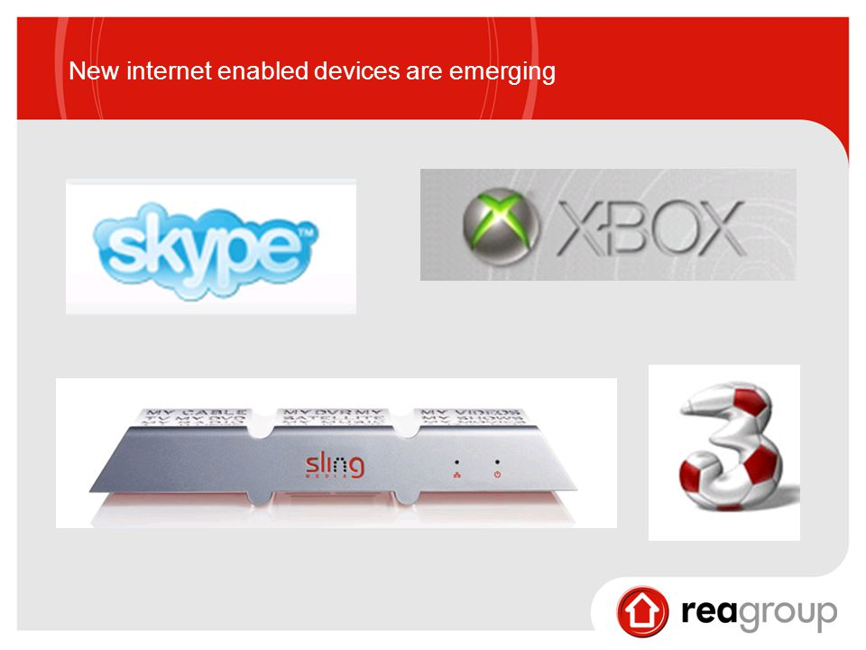 New internet enabled devices are emerging