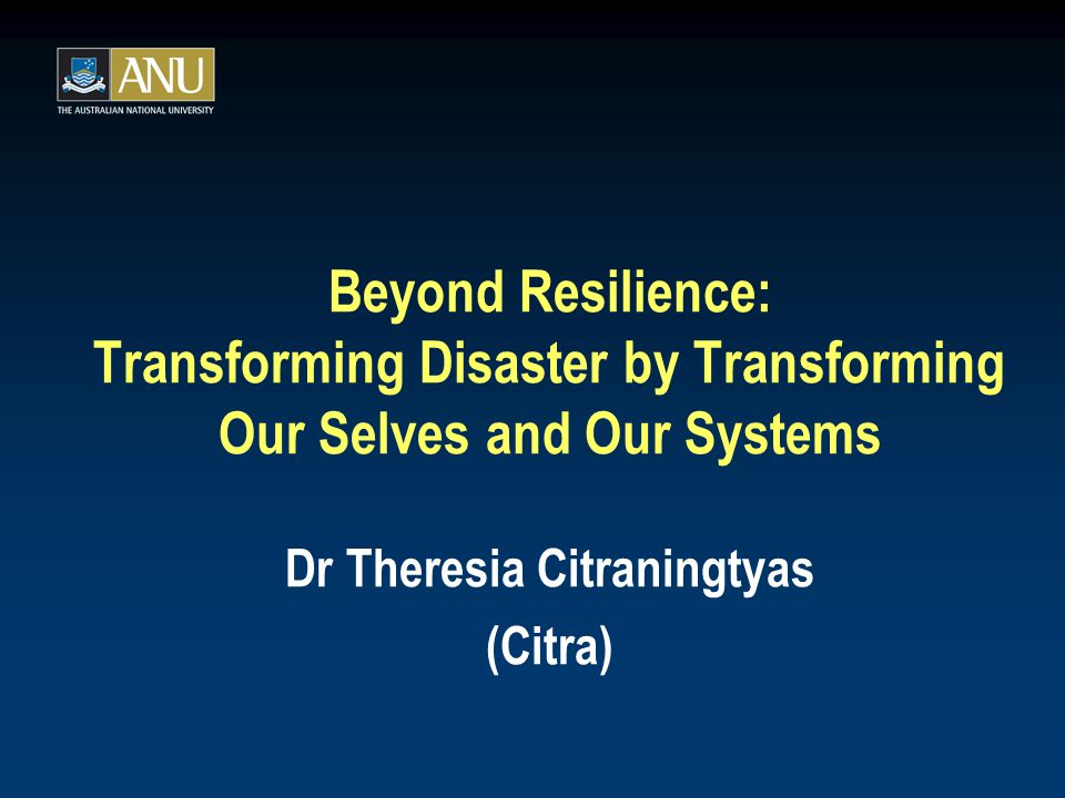 Presentation related to Citraningtyas T (2010).