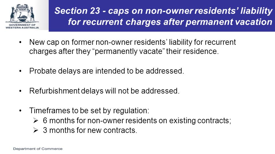 Section 14A - contract requirements New section 14A allows regulations to prescribe matters or clauses that must, or must not, be contained in residence contracts, or contracts of a specified kind.