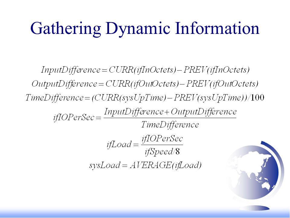 Gathering Dynamic Information