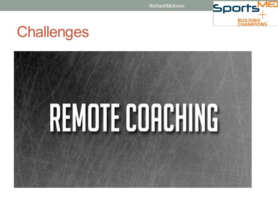 Challenges Richard McInnes