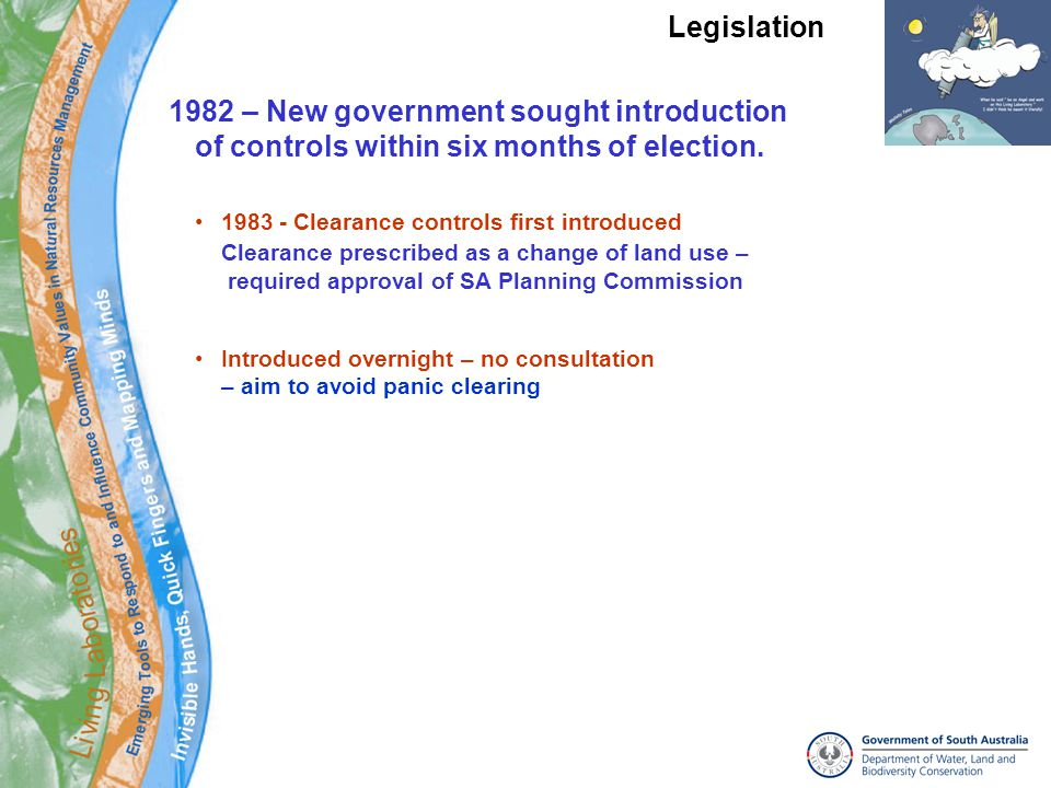 1982 – New government sought introduction of controls within six months of election.