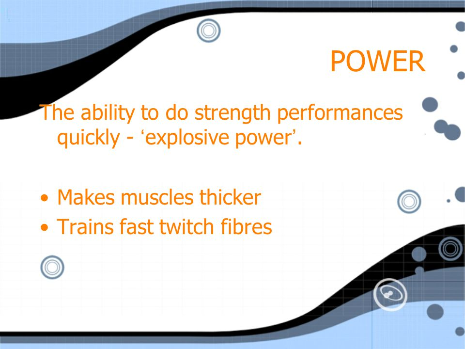 MUSCULAR GAIN & BODY SHAPING Changing muscle size, shape, tone & definition are the main goals in resistance training.