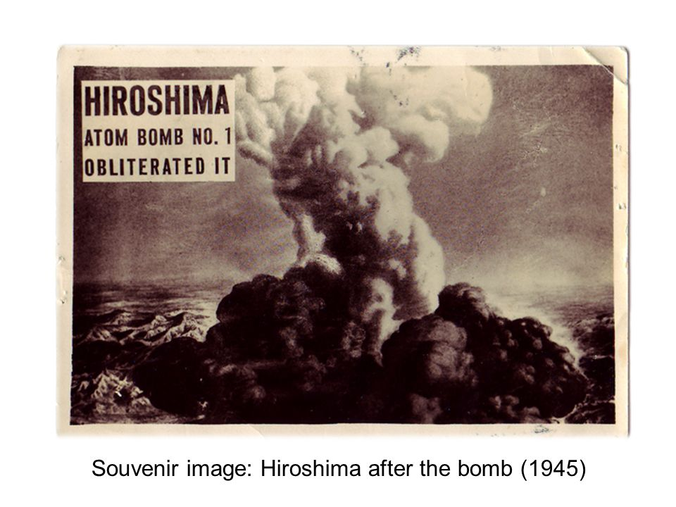 Souvenir image: Hiroshima after the bomb (1945)