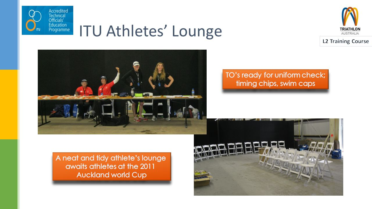 ITU Athletes' Lounge