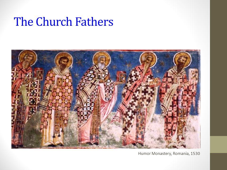 The Church Fathers Humor Monastery, Romania, 1530