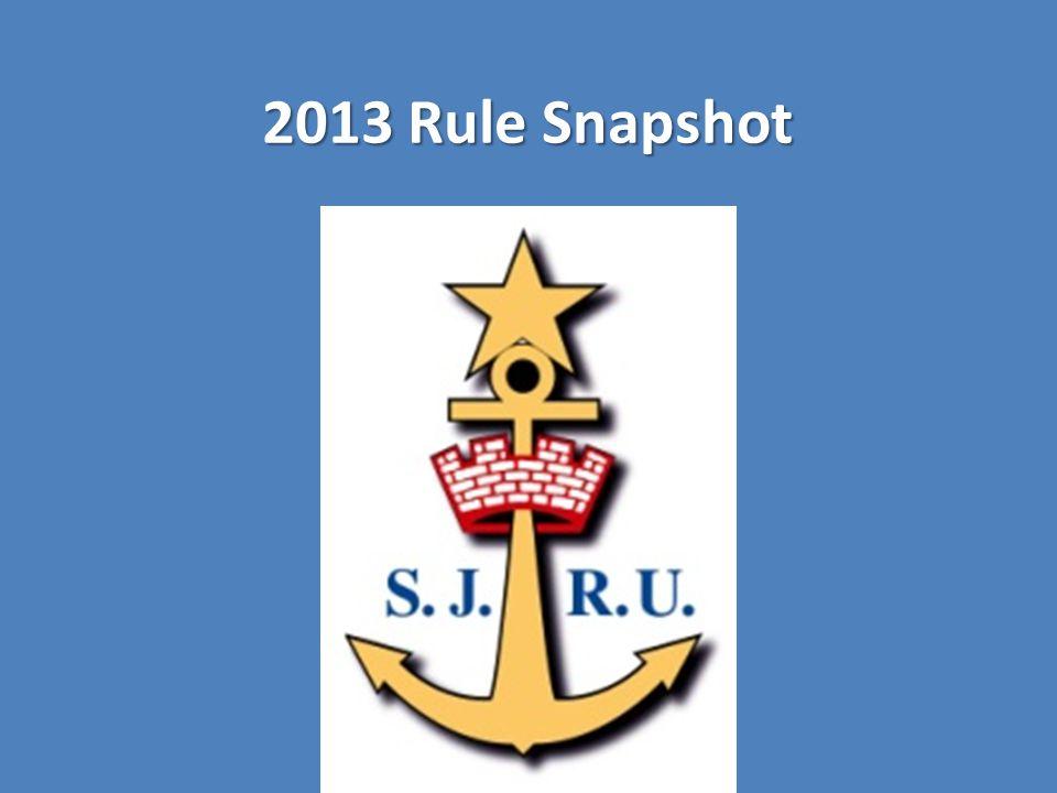 2013 Rule Snapshot