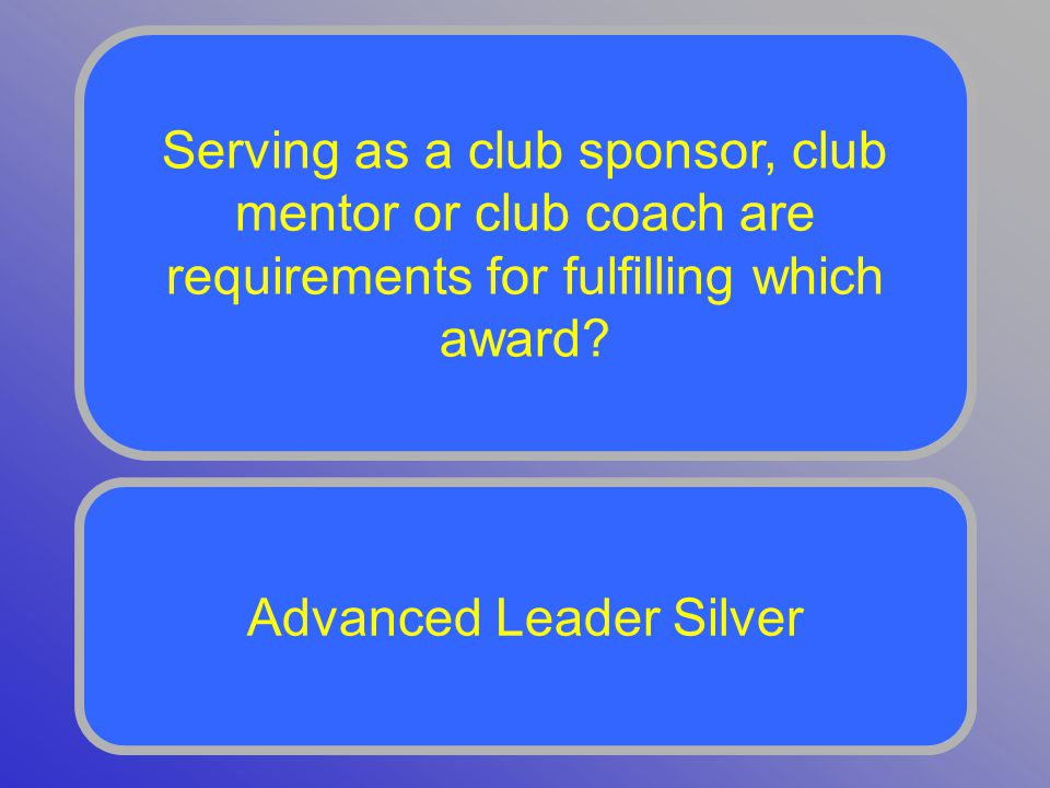 Toastmasters who have completed their CC and CL and are or have been a club officer should consider completing which award.