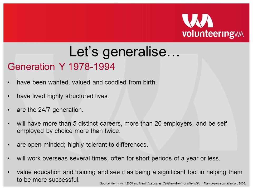 FLEXIVOL Flexibility Legitimacy Ease of access Xperience Incentives Variety Organisation Laughs Source: Institute for Volunteering Research, What Young People Want from Volunteering,1997
