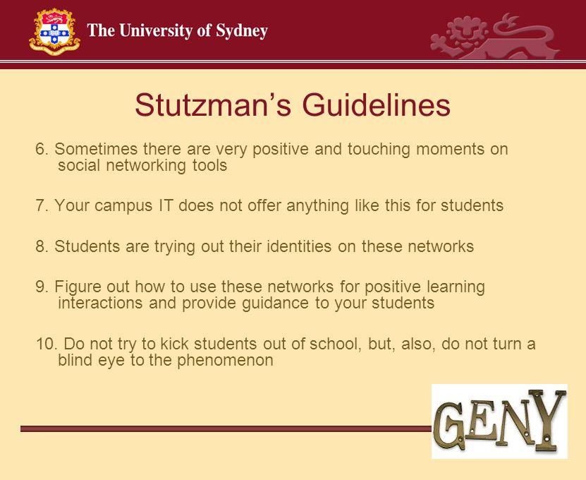 Stutzman's Guidelines 6.
