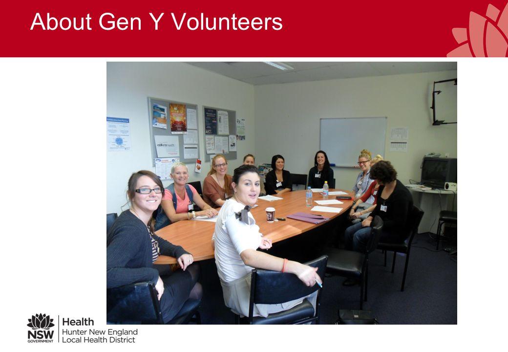 About Gen Y Volunteers