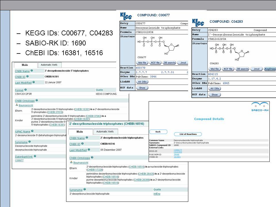 –KEGG IDs: C00677, C04283 –SABIO-RK ID: 1690 –ChEBI IDs: 16381, 16516