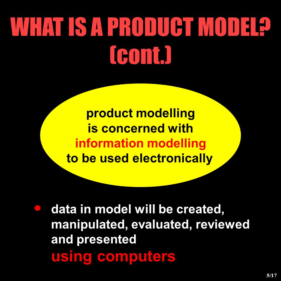 WHAT IS A PRODUCT MODEL.