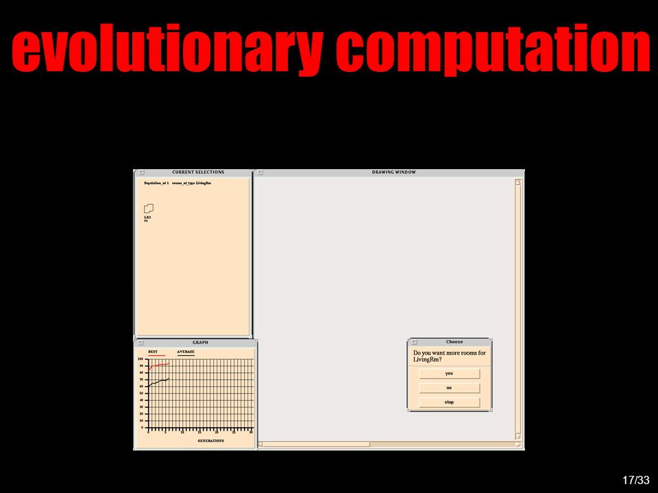 evolutionary computation 17/33