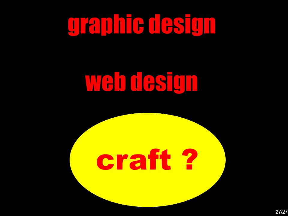 craft graphic design web design 27/27
