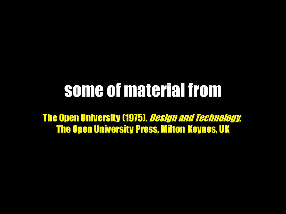 some of material from The Open University (1975).