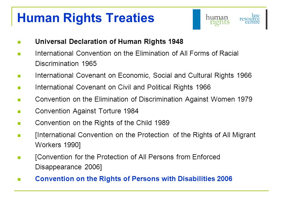 Context Why use international human rights.