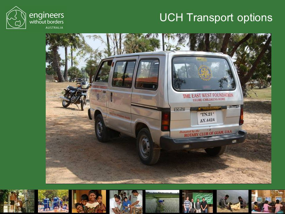 UCH Transport options