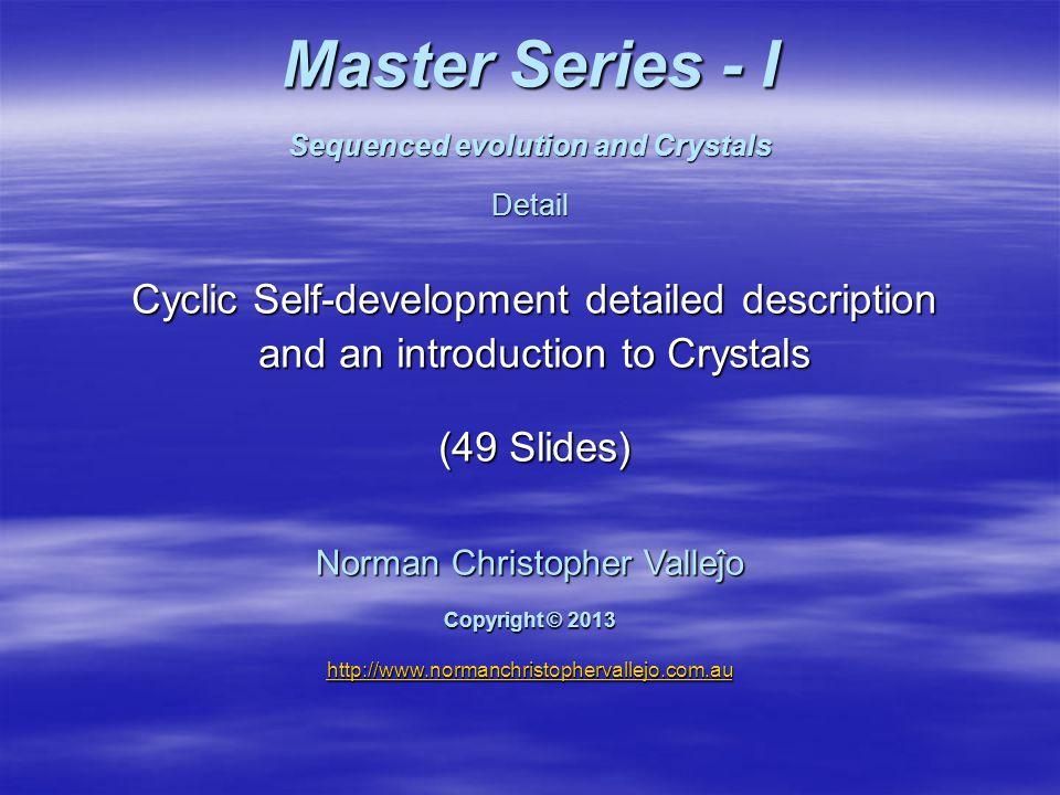 Logical method Master Series - I Reveal subconscious blockages Regenerate Dissipate blockage Heal emotional